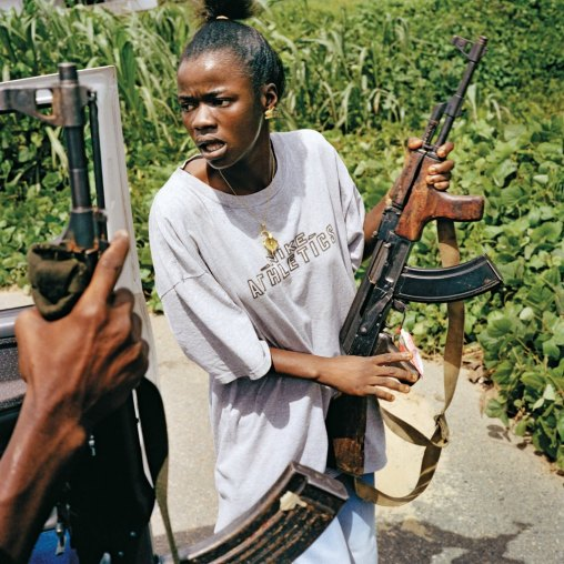 Female-child-soldier